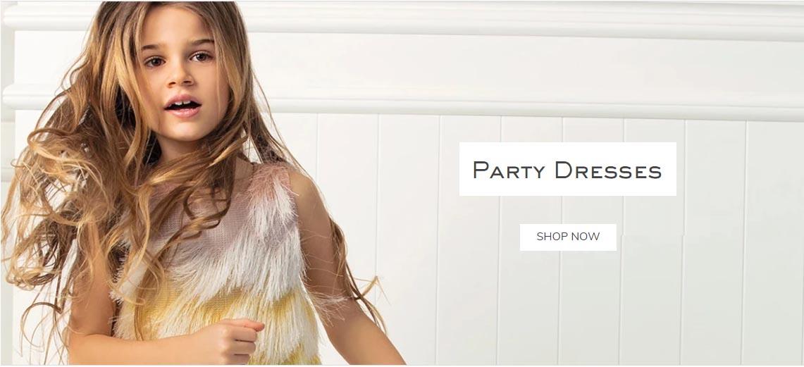 Парти рокли за момичета
